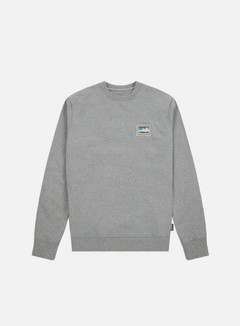Patagonia - Shop Sticker Patch Uprisal Crewneck, Gravel Heather