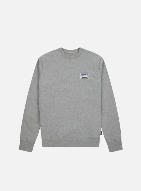 Sale Outlet Crewneck Sweatshirts Patagonia Shop Sticker Patch Uprisal Crewneck