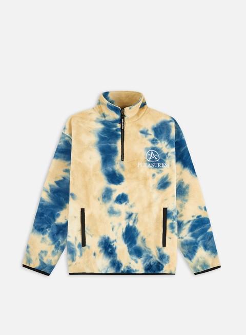 Fleece sweatshirts Pleasures Caffeine Polar Quarter Zip Fleece