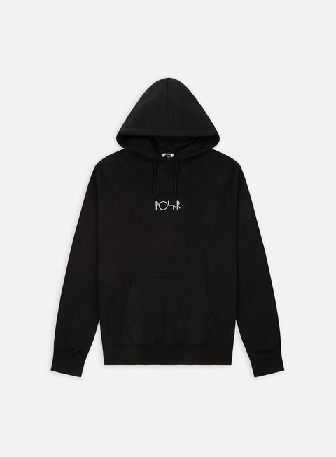 felpe polar skate default hoodie black
