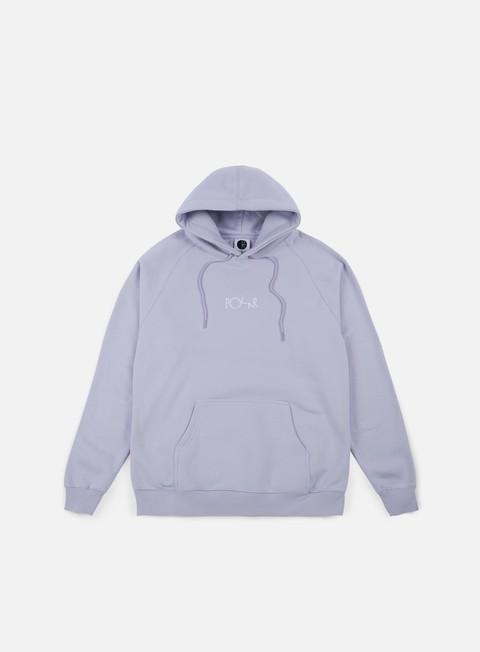 felpe polar skate default hoodie dusty lavender