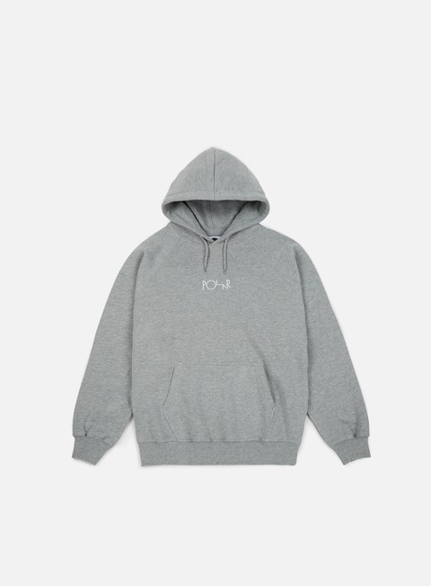 felpe polar skate default hoodie heather grey