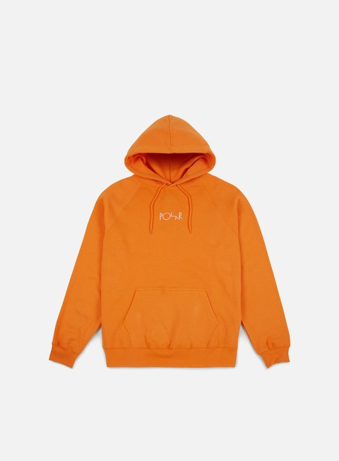 felpe polar skate default hoodie orange