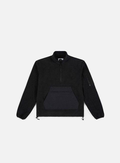 felpe polar skate gonzalez fleece jacket black
