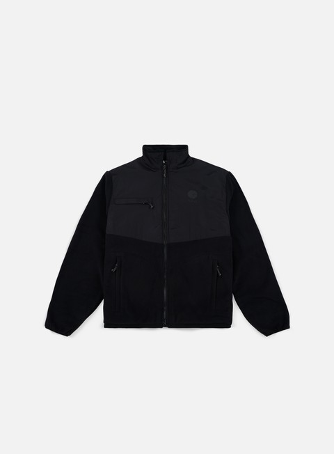 felpe polar skate halberg fleece jacket black