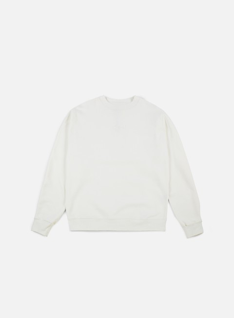 felpe polar skate heavyweight default crewneck ivory white