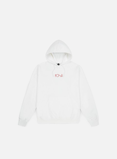 felpe polar skate lambo life fill logo hoodie white
