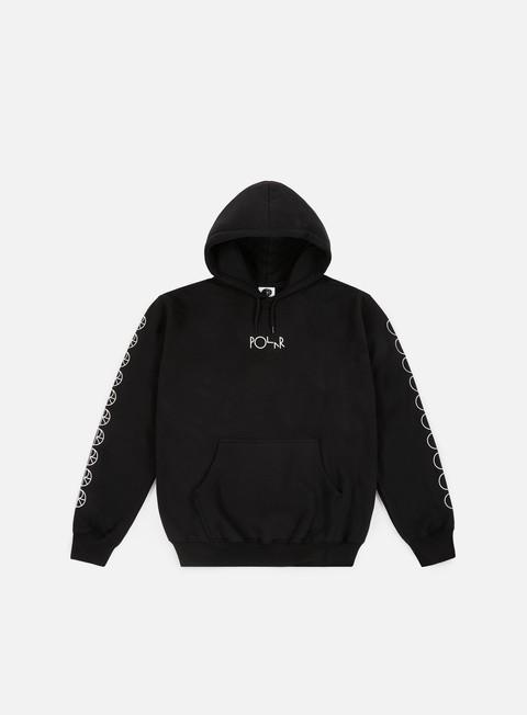 felpe polar skate racing hoodie black