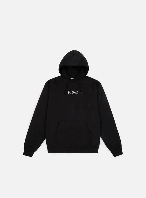 Hooded Sweatshirts Polar Skate Stroke Logo Hoodie