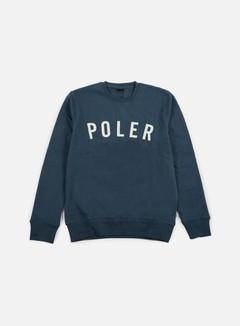 Poler - State Crewneck, Blue Steel 1