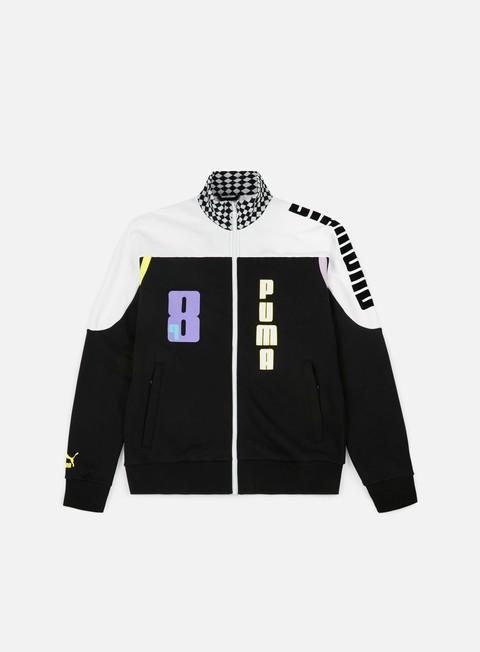 Zip hoodie Puma Diamond Track Top