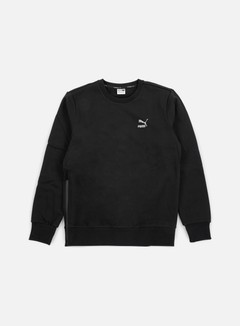 Puma - Evo Core Crewneck, Cotton Black