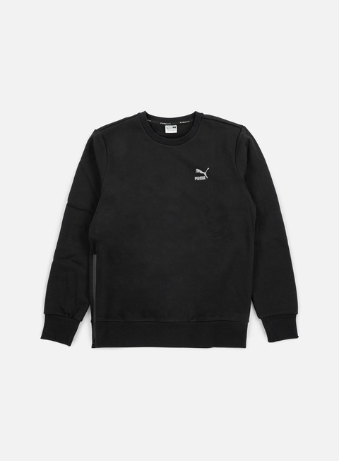 felpe puma evo core crewneck cotton black