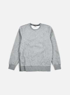 Puma - Evo Core Crewneck, Medium Grey Heather