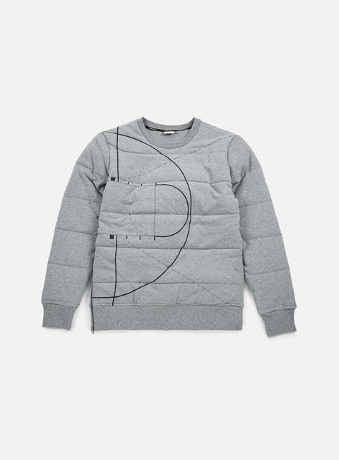 Outlet e Saldi Felpe Girocollo Puma Evo Graphic Padded Crewneck