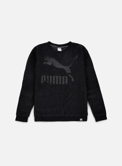 Puma - WMNS Winterized Crewneck, Puma Black 1
