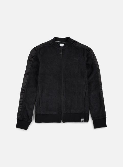 felpe puma wmns winterized t7 track jacket puma black