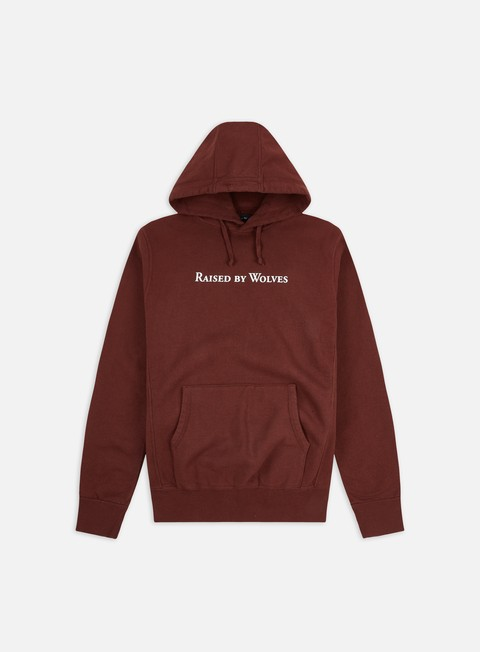 Sale Outlet Hooded Sweatshirts Raised by Wolves Logotype Hoodie