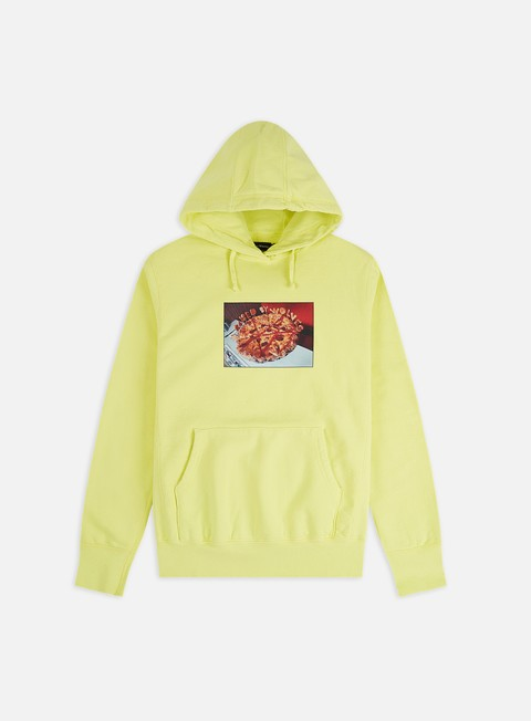 Raised by Wolves Pizza Hoodie
