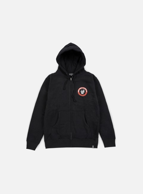 Hooded Sweatshirts Rebel 8 Angelino Zip Hoodie