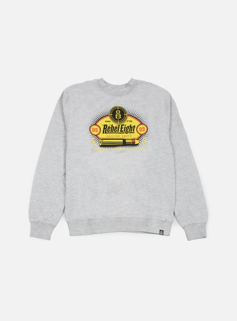 Outlet e Saldi Felpe Girocollo Rebel 8 Calling Shots Crewneck