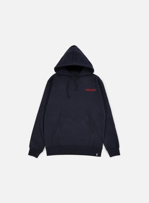 felpe rebel 8 death zap hoodie navy