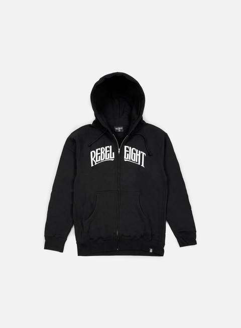 felpe rebel 8 secret allegiance zip up hoodie black