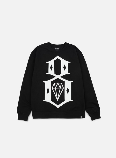 Felpe Girocollo Rebel 8 Standard Issue Logo Crewneck
