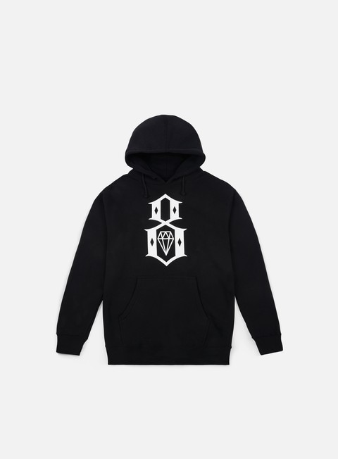 felpe rebel 8 standard issue logo hoodie black