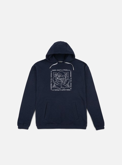 felpe rebel 8 stigma hoodie navy