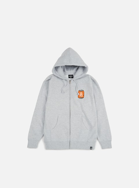 felpe rebel 8 toast to the worst zip hoodie grey heather