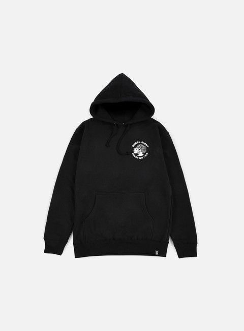 felpe rebel 8 two faced hoodie black