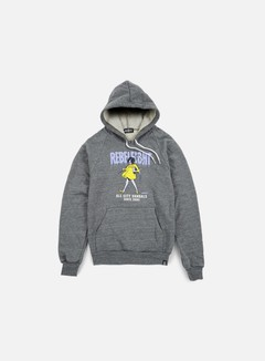Rebel 8 - WMNS All City Vandals Hoodie, Athletic Heather 1