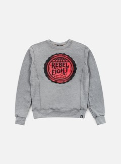 Rebel 8 - WMNS Rebel Eight Studios Crewneck, Athletic Heather