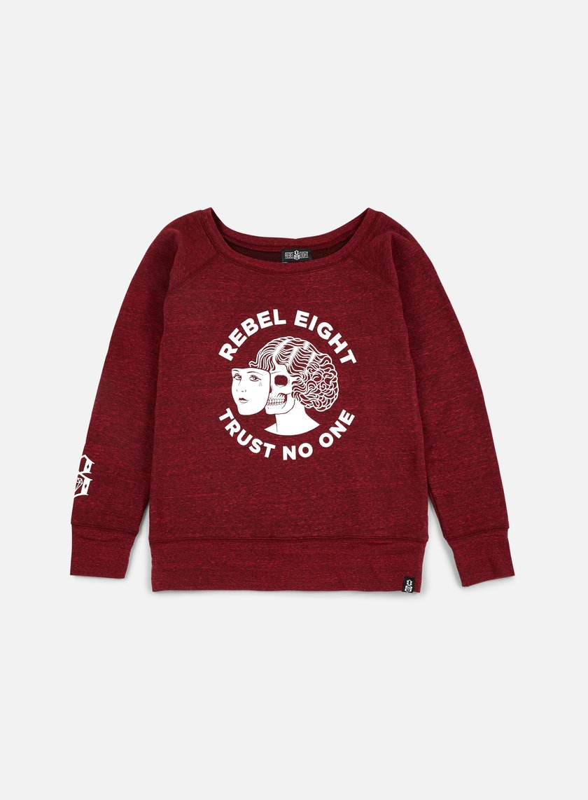 Rebel 8 WMNS Two Faced Crewneck