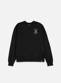 Rebel 8 - Worldwide Domination Crewneck, Black 1