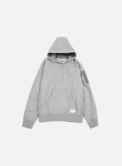 Reebok - Beams Hooded Sweatshirt, Medium Grey Heather 1