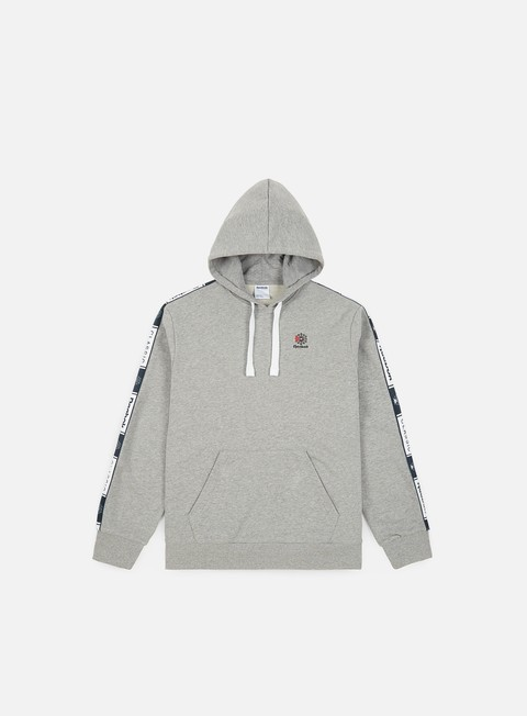 Sale Outlet Hooded Sweatshirts Reebok Classic Taped Hoodie