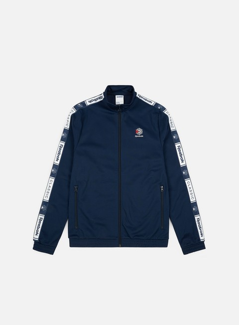 Sale Outlet Track Top Reebok Classic Taped Track Top