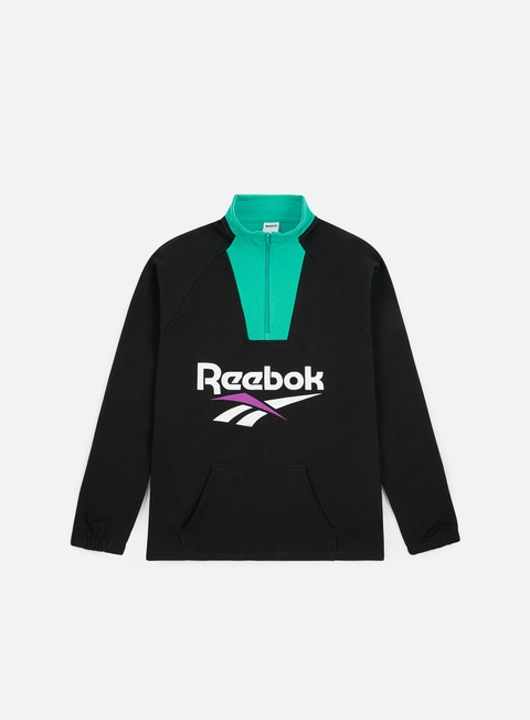 Logo Sweatshirts Reebok Classic Vector 1/4 Zip Sweatshirt