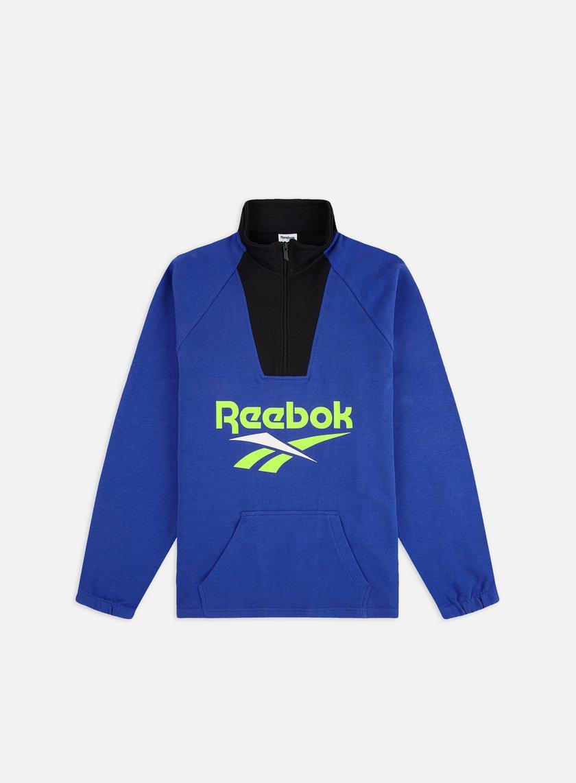 gran descuento de 2019 Donde comprar auténtico REEBOK Classic Vector 1/4 Zip Sweatshirt € 30 Zip Sweatshirts ...
