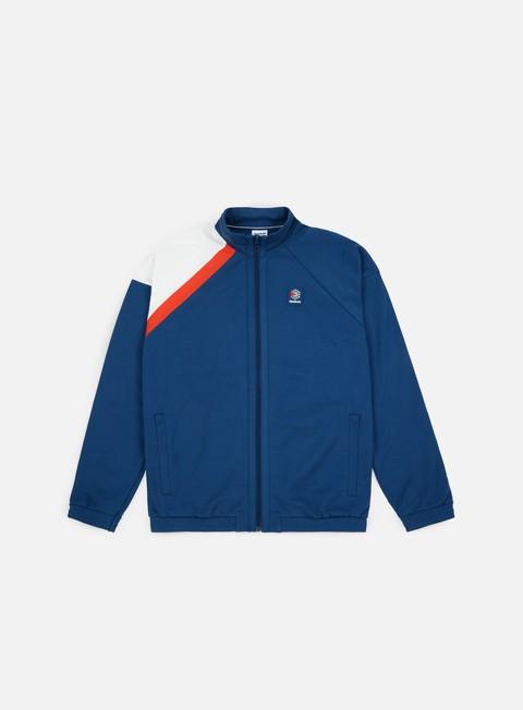 felpe reebok es track jacket bunker blue