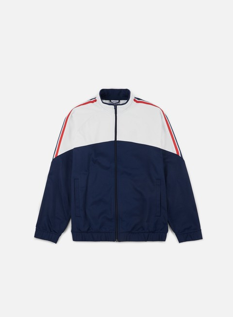 felpe reebok franchise track top collegiate navy