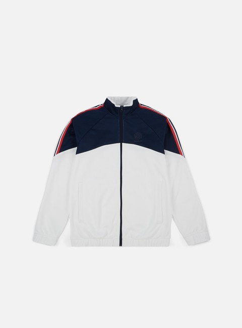 felpe reebok franchise track top white
