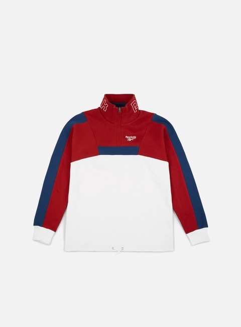 Sale Outlet Zip Sweatshirts Reebok LF Quarter Zip Crewneck