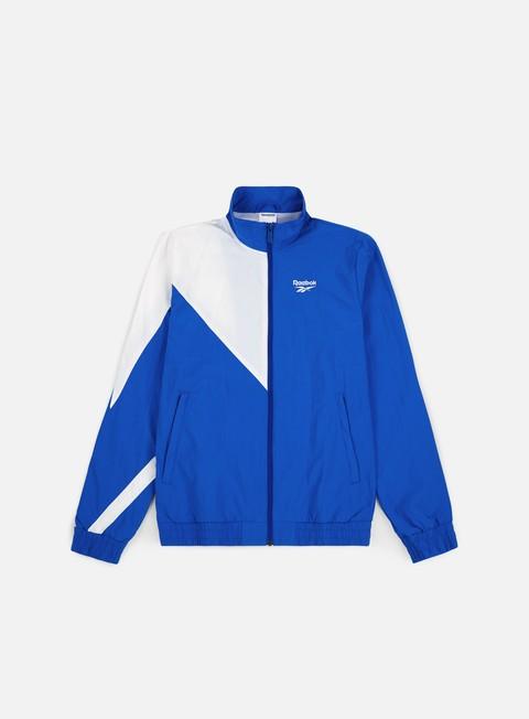 felpe reebok lf track top vital blue