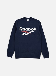 Reebok - Vector Crewneck, Collegiate Navy 1