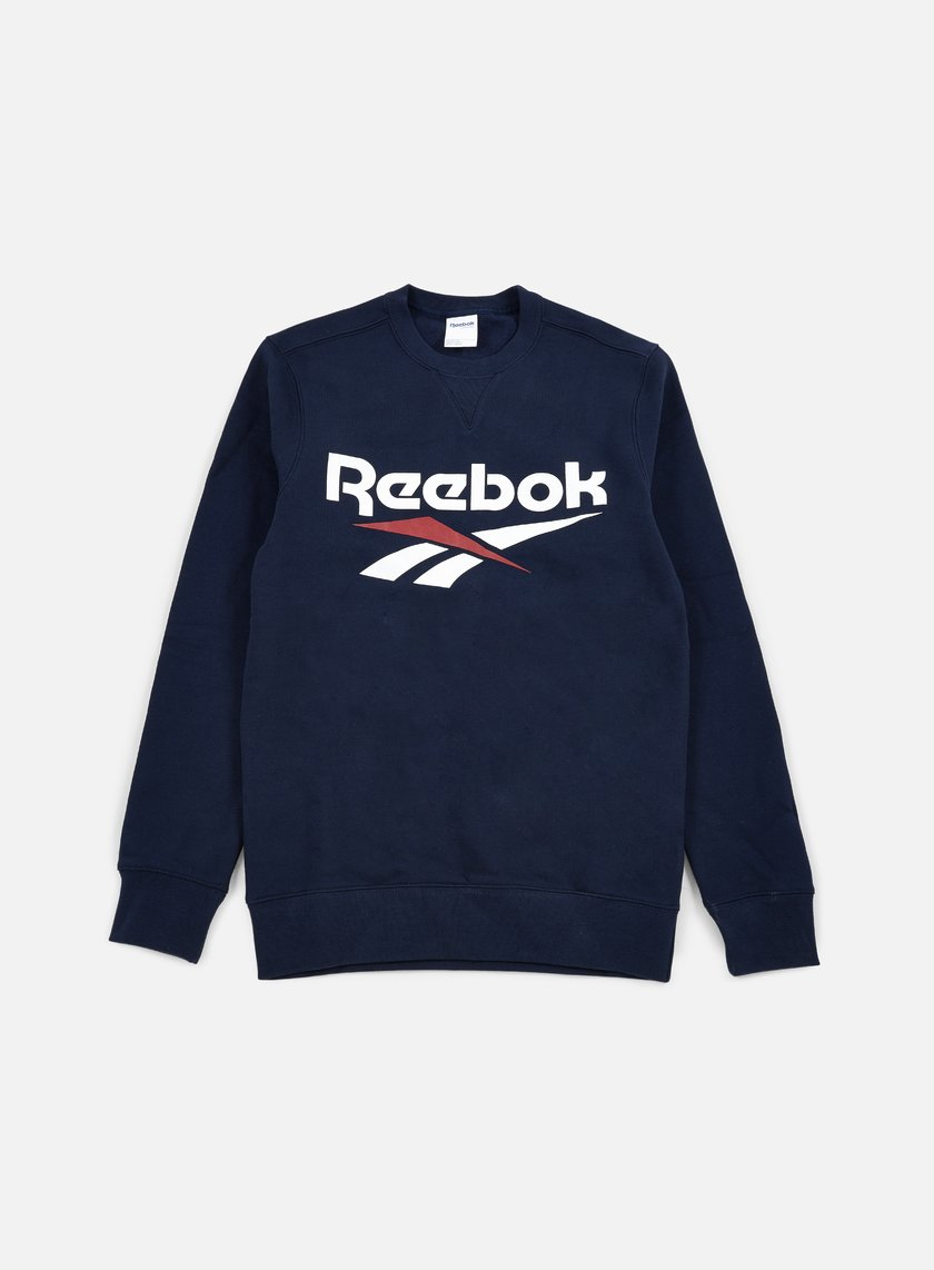 Reebok - Vector Crewneck, Collegiate Navy
