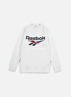 Reebok - Vector Crewneck, White