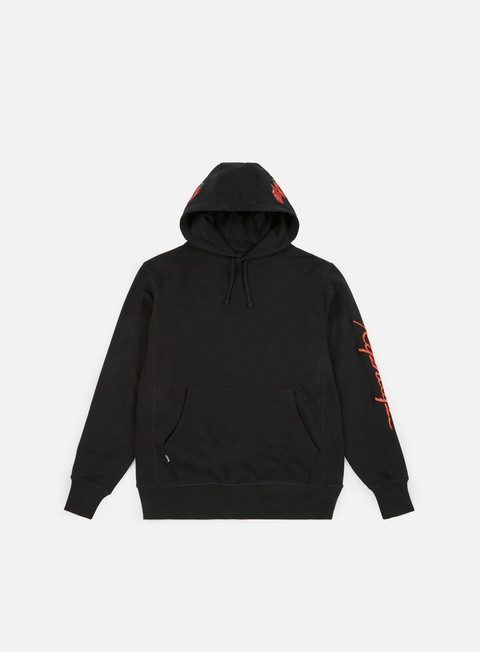 felpe rip n dip dead rose hoodie black